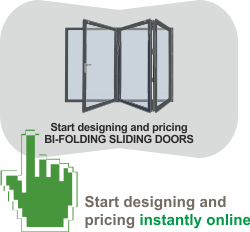 Instantly Design and Quote your new Bi-folding Sliding Doors