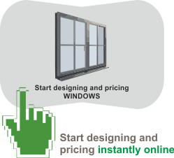 Instantly Design and Quote your new Windows